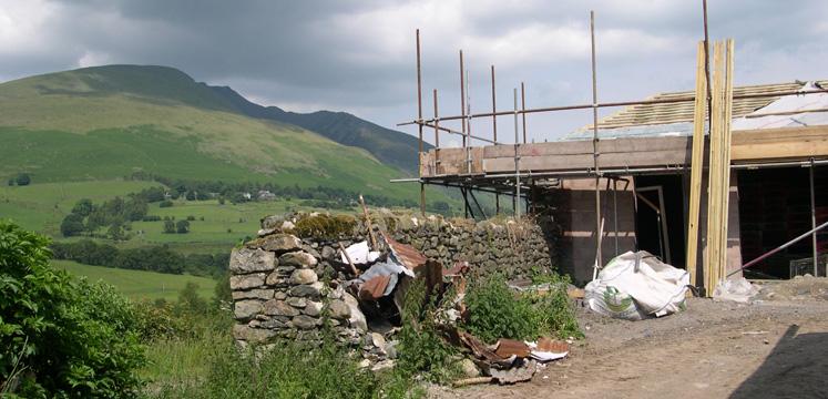 Building site copyright Michael Turner
