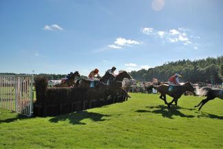 Cartmel races feature