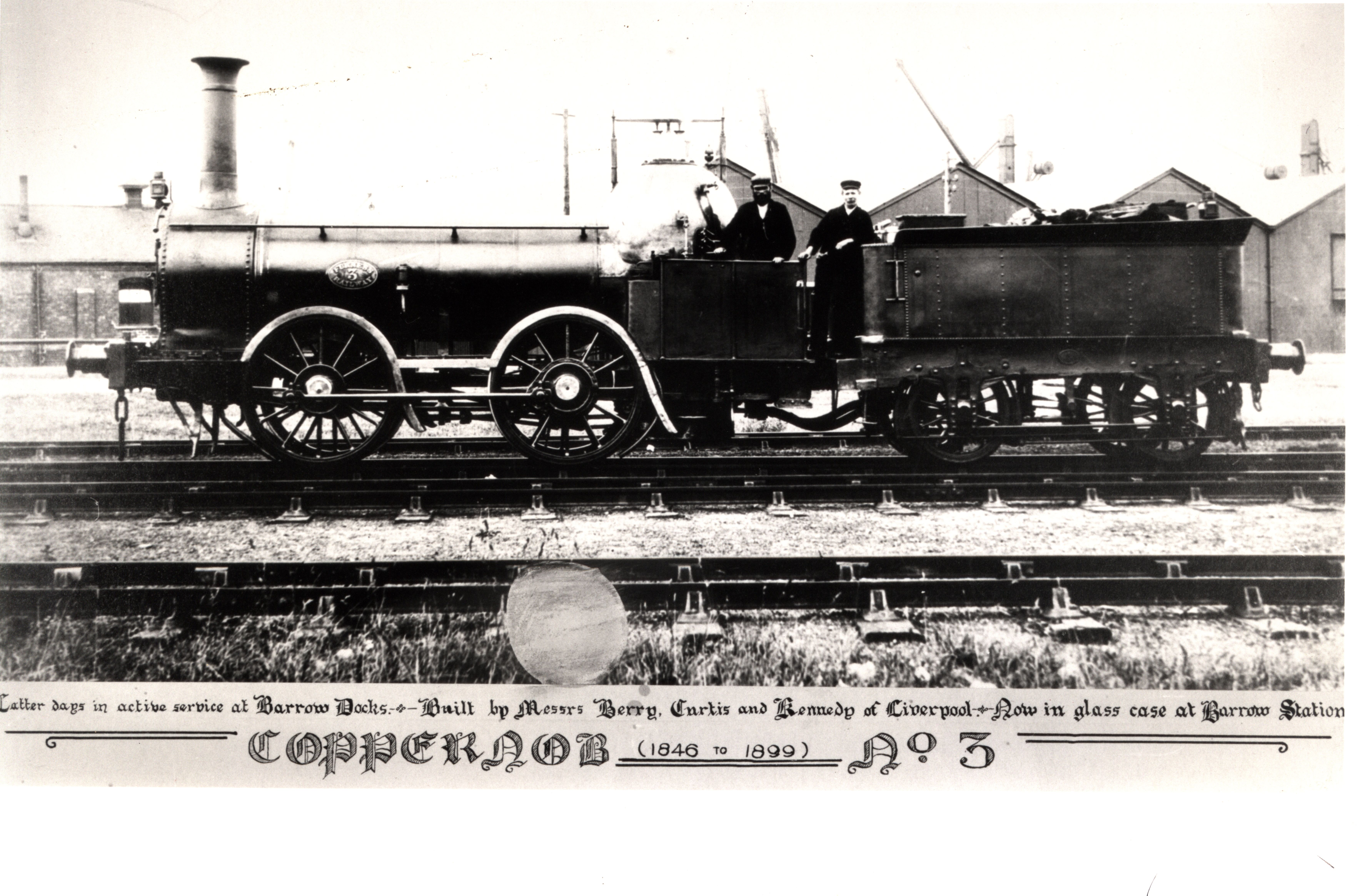 Furness Locomotive 'Coppernob', now in National Railway Museum