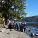 people enjoying a National Park volunteer-led guided walk in beautiful Ullswater