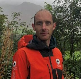 Portrait of Wes Hunter the Lake District National Park's newest Fell Top Assessor