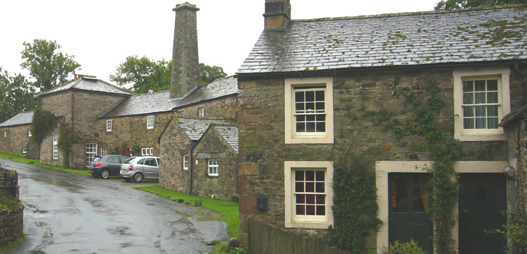 Houses and cottages in Caldbeck copyright David James