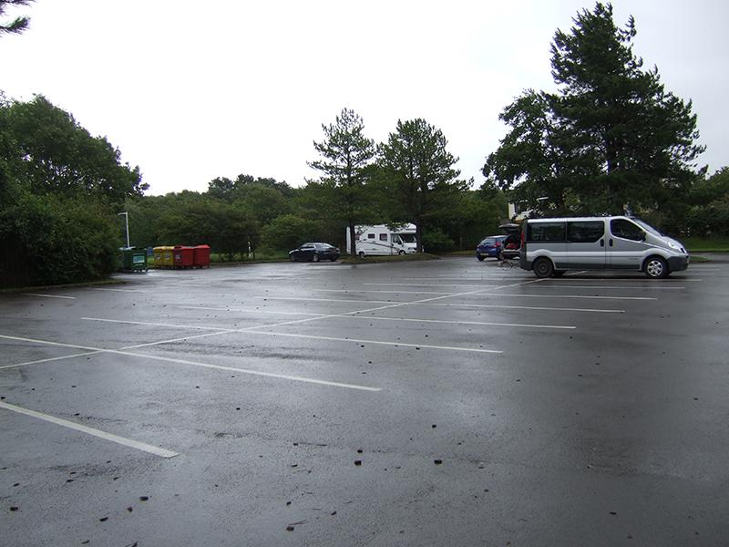Ravenglass village car park