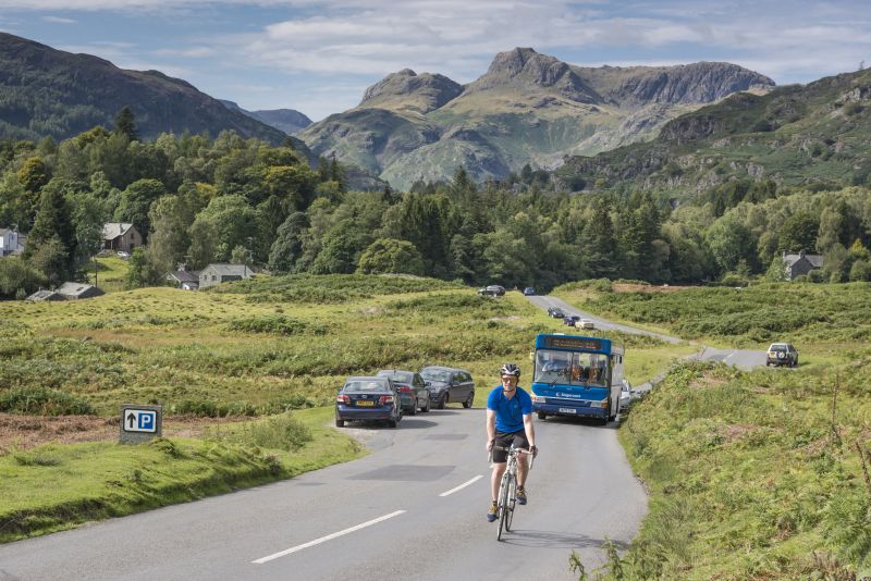 Langdale Rambler cyclist - Go Lakes