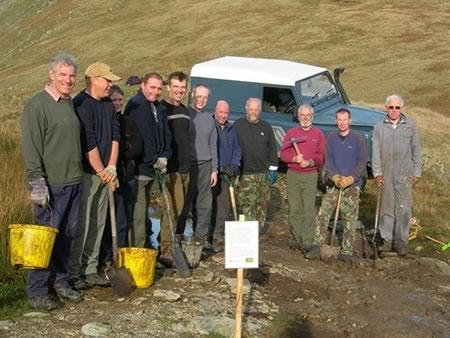 Work party at Gatesgarth