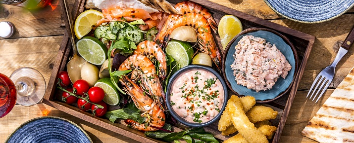 Seafood in the Lake District