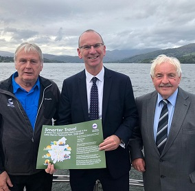 Visitor travel strategy launch on Windermere