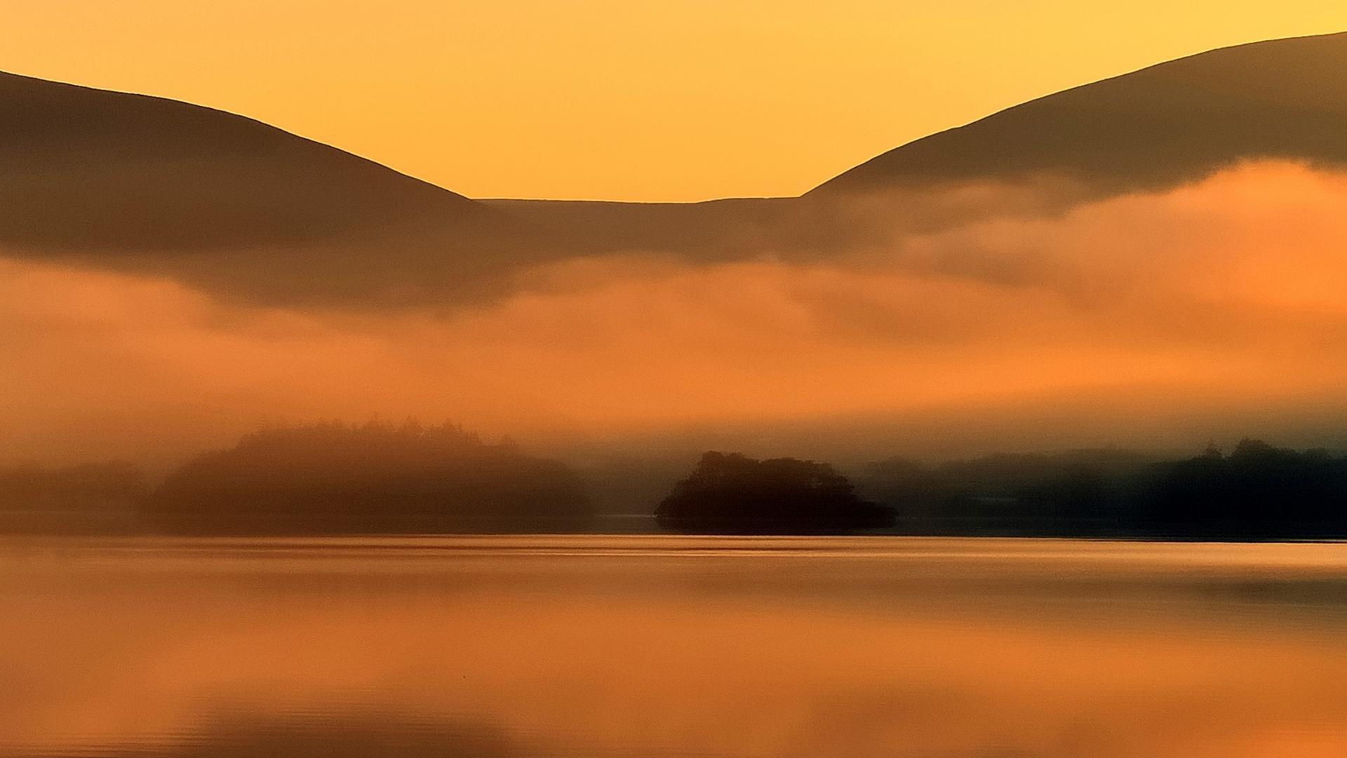 reflections of Derwentwater