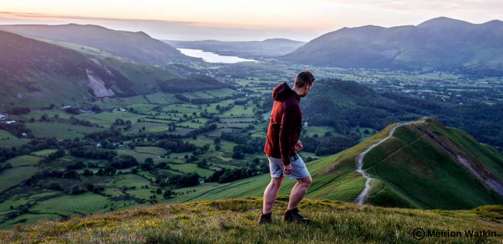 Harrison Ward exploring the Lake District.