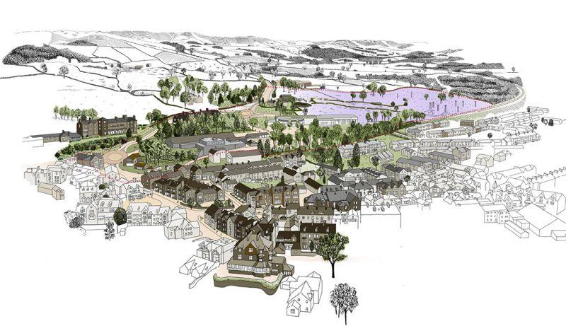Illustration showing vision for development in Windermere
