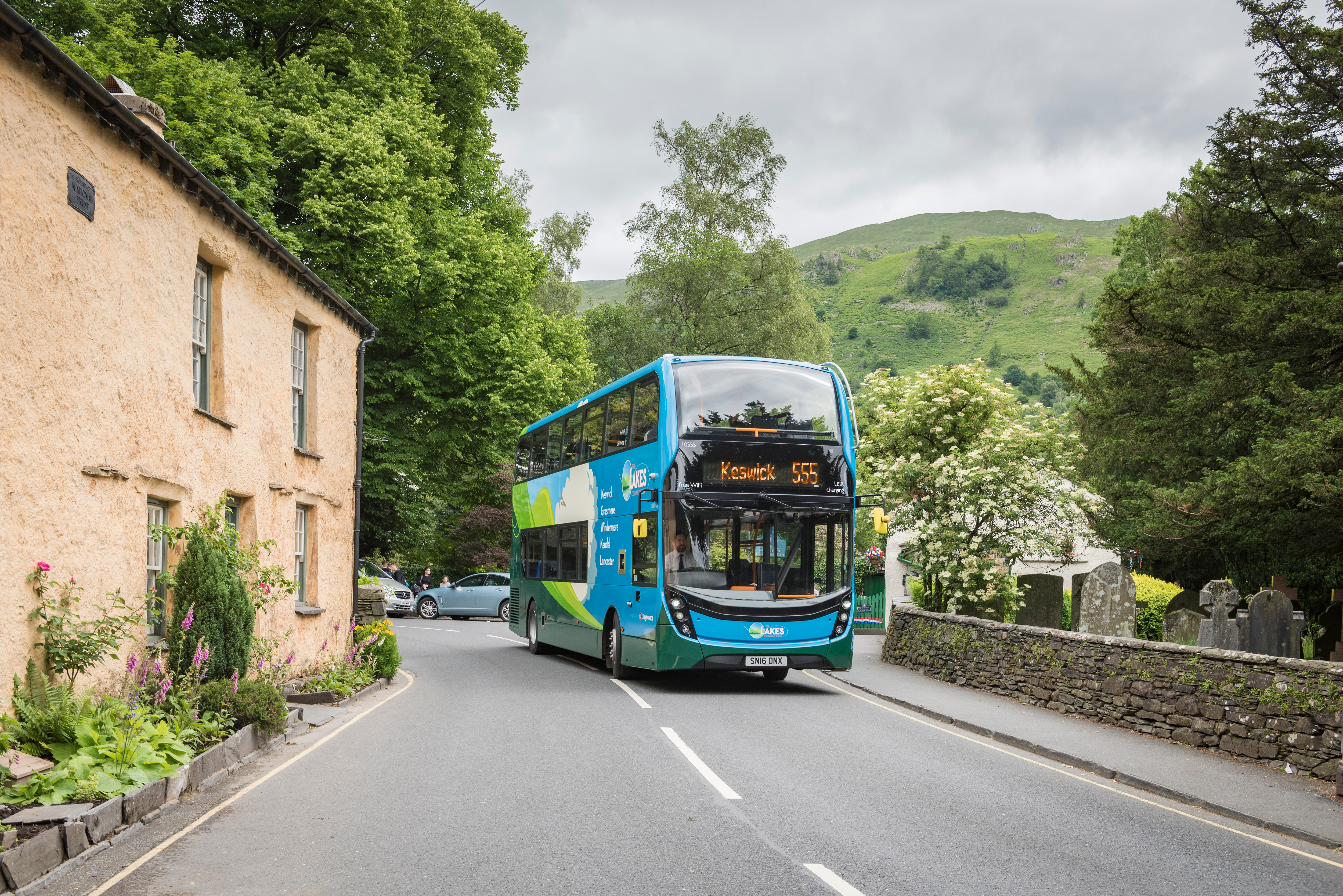The 555 bus - Stagecoach