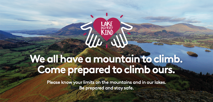 We all have a mountain to climb. Come prepared to climb ours. Please know your limits on the mountainsand in our lakes. Be prepared and stay safe.