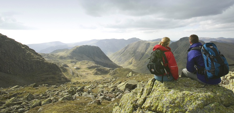 View of mountains above Wasdale copyright Tony West