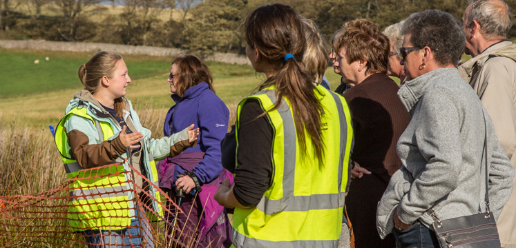 Local people were involved in the Romans in Ravenglass project