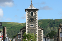 Moot Hall in Keswick, home to Keswick Information Centre - copyright Keswick Tourism Association